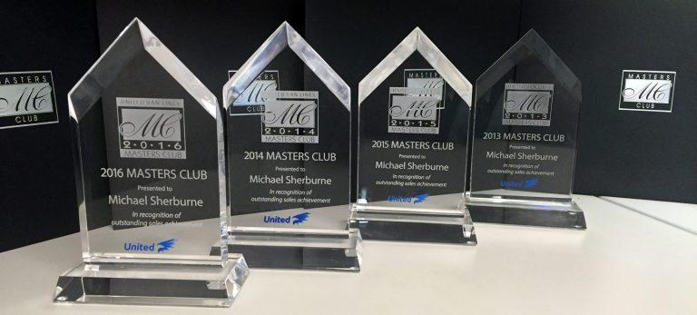 Mike Sherburne has won four consecutive Masters